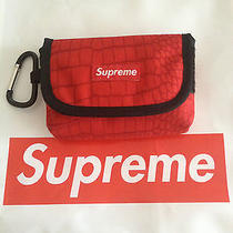 Supreme Croc Pouch Camera Bag Box Logo Cordura Photo