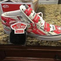 Supreme X Campbells Vans Half Cab Pro 10.5 Andy Warhol New in Box Photo