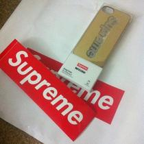 Supreme X Incase Iphone 5 Case S/s 13 Bling Logo Gold Limit Rare Photo