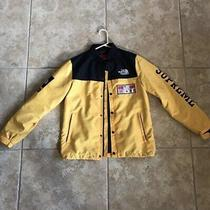 Supreme X the North Face Tnf Ss14 Expedition Coach Jacket Large Used Photo