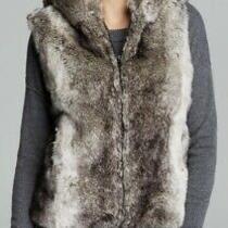 Surell for Bloomingdales Faux Fur Hooded Vest Size M/l Photo