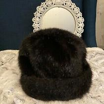 Surell Fur Hat Black Photo