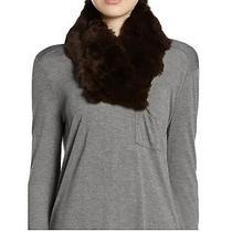 Surell Rabbit Fur Collar-Black Photo