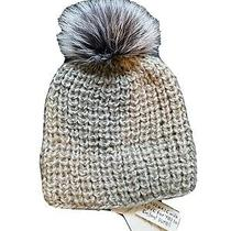 Surell Real Fur Pom Pom Hat Photo