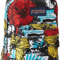 Surf Jansport Backpack Hawaiian Back to School College Hiking Lifetime Warranty Photo