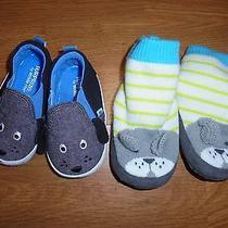 Surprize by Stride Rite & Just One You by Carter's Puppy Dog Slipper/shoes 6-12m Photo