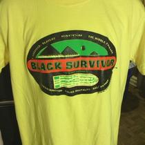 Survivor Alternate Reality Black Survivor African American Unitees T-Shirt (Lg) Photo