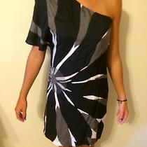 Susana Monaco Black and White Dress  Photo