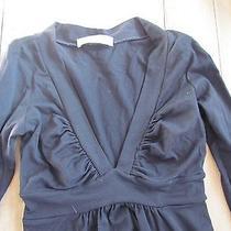 Susana Monaco Black Xs v-Neck Shirt Photo