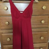Susana Monaco Red Dress S Photo