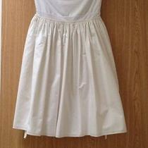 Susana Monaco Strapless White Dress Size Xs Photo