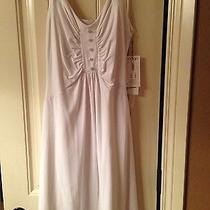 Susana Monaco White Dress Size L Photo