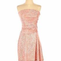 Susana Monaco Women Pink Casual Dress Xs Photo