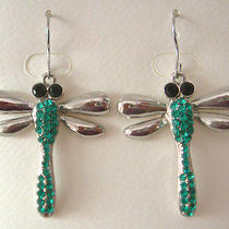 Swarovski Crystal Dragonfly  Earring B Photo