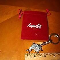 Swarovski Crystal  Key Chain Key Ring Dolphins Photo
