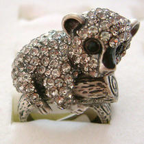 Swarovski Crystal Koala Ring  Photo