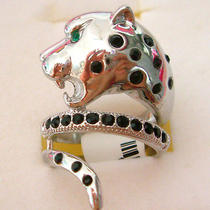Swarovski Crystal Leopard Ring  Photo