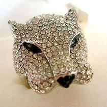Swarovski Crystal Leopard Ring  Photo