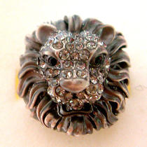 Swarovski Crystal Lion Ring A Photo