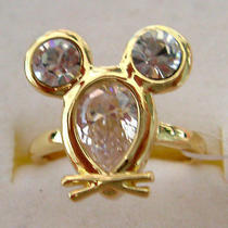 Swarovski Crystal Mouse Ring  Photo
