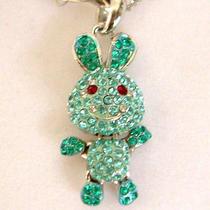 Swarovski Crystal Rabbit Necklace  Photo