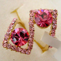 Swarovski Crystal Ruby Ring  Photo