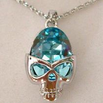 Swarovski Crystal Skull Necklace  Photo