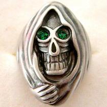 Swarovski Crystal Skull Ring  Photo