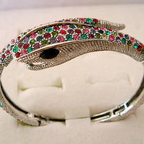 Swarovski Crystal Snake Bracelet  Photo