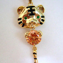 Swarovski Crystal Tiger Necklace  Photo
