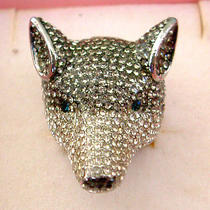 Swarovski Crystal Wolf Ring Photo