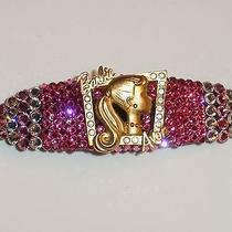 Swarovski Crystals & Barbie Jewelry Pinks Barrette Handmade & Fabulous Photo
