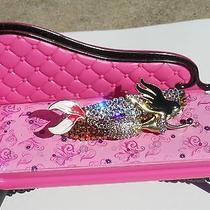 Swarovski Crystals & Bj Mermaid Jewelry Barrette Purples Sea Bound Photo