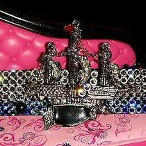 Swarovski Crystals & Pirate Ship Jewelry Barrette Blues/clear Sail On Photo