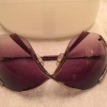 Swarovski Elements Ladies Sunglasses With Case Photo