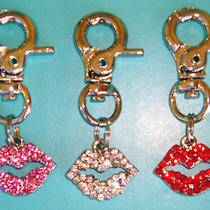Swarovski Red Lips Pendant Photo