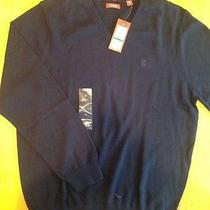 Sweater Izod Lacoste v Neck Crisp Photo