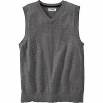 Sweater Old Navy Boy's Grey Sleeveless  Vest. Size Xl 14/16 Nwt New Photo