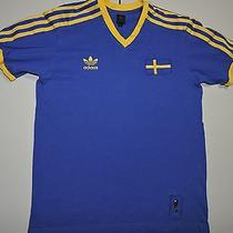 Sweden Adidas Trefoil Soccer Jersey T Shirt Extra Small Xs 10 Inv2018 Photo