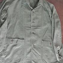 Swedish Men's Military Work Jacket Sweden Army Coat Vintage M Urban Outfitters Photo