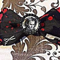 Sweeney Todd Hair Bow Chuck Holdi Artwork Tim Burton Johnny Depp Photo