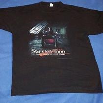 Sweeney Todd Large Shirt Tim Burton Johnny Depp  Photo