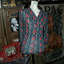 Sweet Pea by Stacy Frati Trendy Blouse Size M Photo