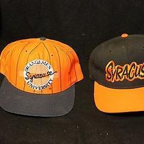 Syracuse Orange Baseball Caps - 2 - No Tags - New the Game the Natural Photo