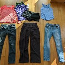 Sz 14 16 Xl Plus Gap Kids Jeans Lot of Tween Teen Juniors Clothing Champion h&m Photo
