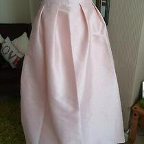 Sz 18 Blush Pink High Low Coast Skirt Wedding Occasion Party Holiday Guest Photo