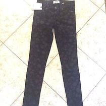 Sz 24 New Paige Denim Jeans Verdugo Ultra Skinny Women's Printed Pants Photo