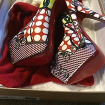 Sz 37.5 Christian Louboutin Never Worn Rare Photo