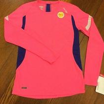 Sz Extra Small Xs Saucony Womens Long Sleeved Athletic Shirt Pink Kinvara Ls Photo