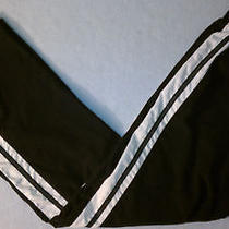 Sz L 12-14 31 X 33 Black White Nike Athletic Warm-Up Overpants 011 Photo